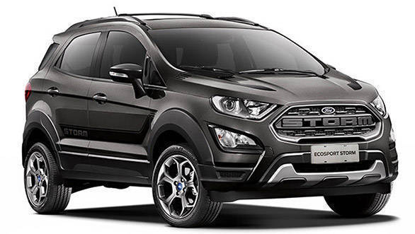 2018 Ford EcoSport Storm unveiled, heading to India?