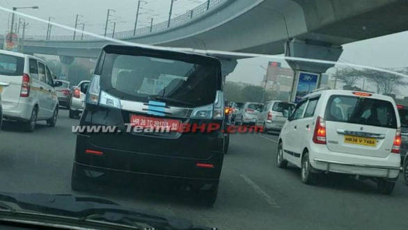Spied: Suzuki Solio spotted testing in India