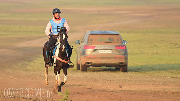Audi Q7 on Horse Endurance 2018 Event Route