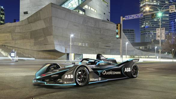 Next generation Formula E car for Season 5 unveiled