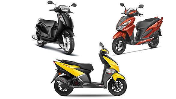 Spec comparo: TVS NTorq 125 vs Suzuki Access 125 vs Honda Grazia