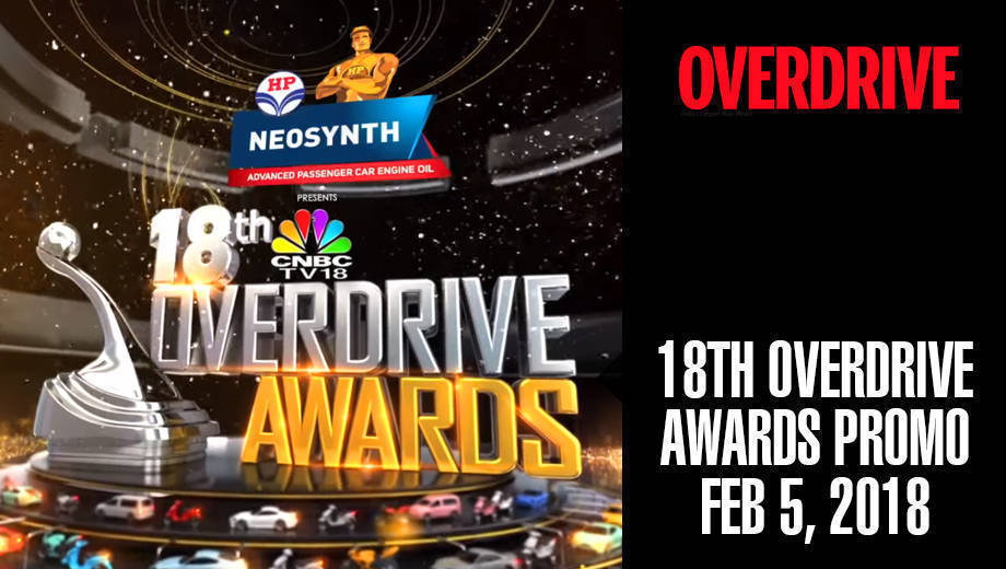 18th Overdrive Awards Promo | February 5, 2018