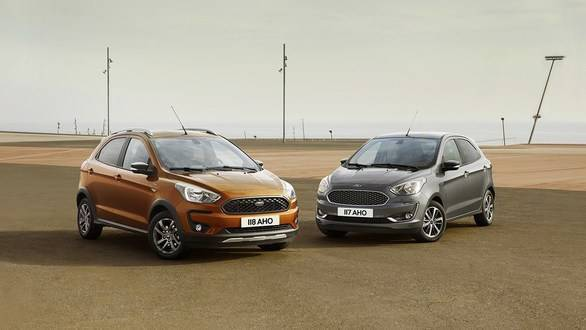 2018 Ford Figo revealed in the new Ford Ka+, will challenge Maruti Suzuki Swift