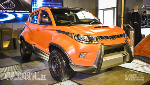 Auto Expo 2018: Mahindra KUV100 Adventure Edition image gallery