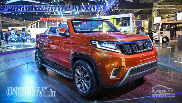 Image gallery: Mahindra Stinger concept at the Auto Expo 2018