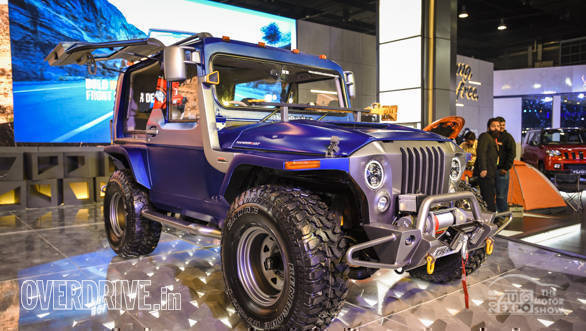 Image Gallery Mahindra Thar Wanderlust Suv At The 2018