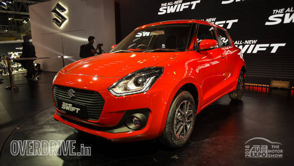 Auto Expo 2018: 2018 Maruti Suzuki Swift image gallery