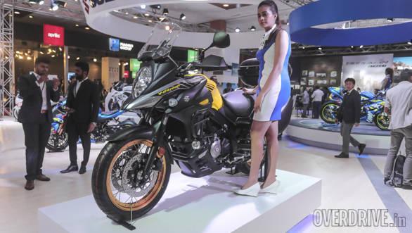 Auto Expo 2018: Suzuki V-Strom 650 XT image gallery