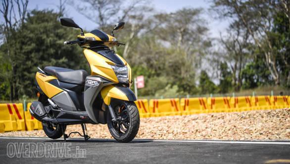 2018 TVS Ntorq 125 road test review