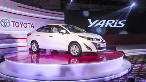 Toyota Yaris sedan launched in the UAE, bookings start in India next month