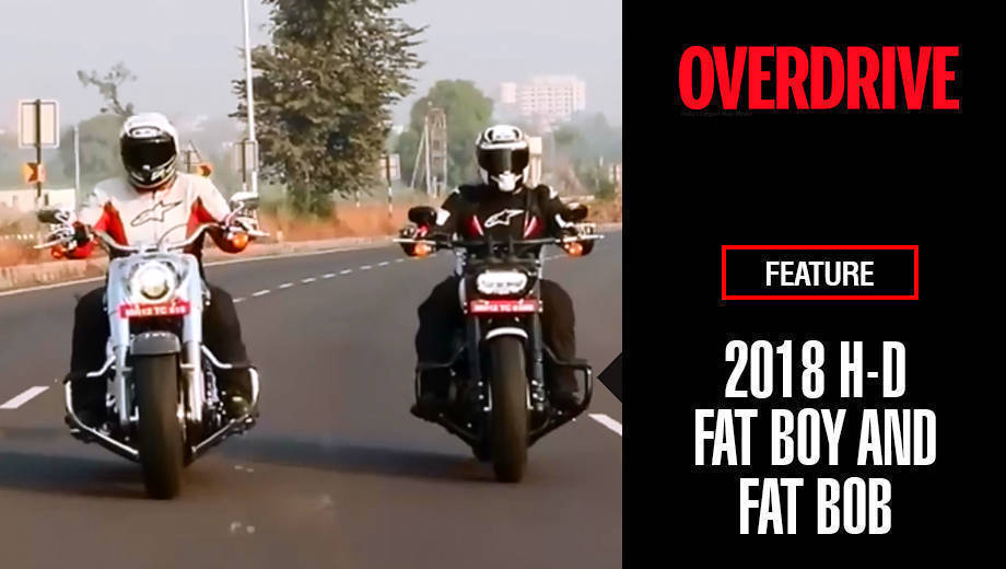 2018 Harley-Davidson Fat Boy and Fat Bob to Mahabaleshwar | Feature