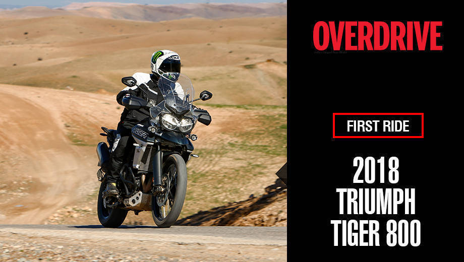 2018 Triumph Tiger 800 first ride review
