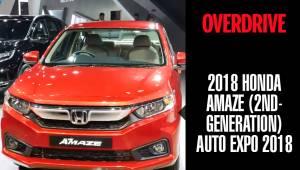 2018 Honda Amaze (second-generation) | Auto Expo 2018