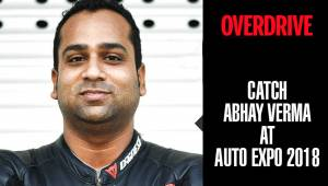 OVERDRIVE at Auto Expo 2018 | Abhay Verma