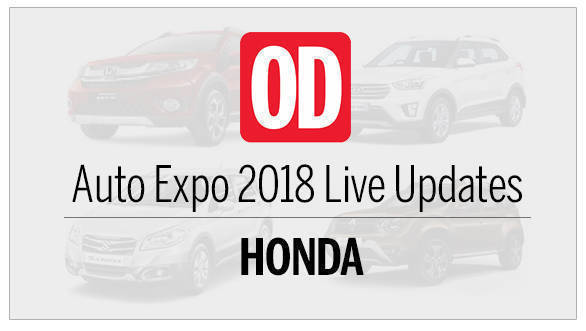 Auto Expo 2018: Honda Cars Live Updates