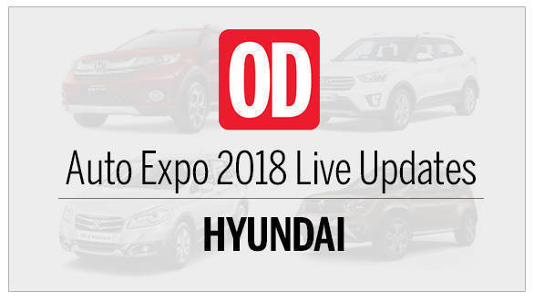 Auto Expo 2018: Hyundai Live Updates