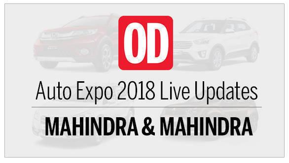 Auto Expo 2018: Mahindra & Mahindra Live updates