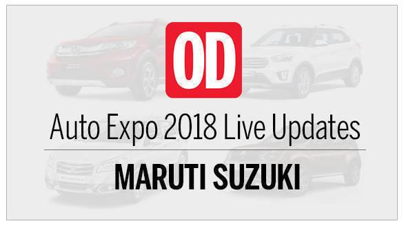 Auto Expo 2018: Maruti Suzuki Live updates