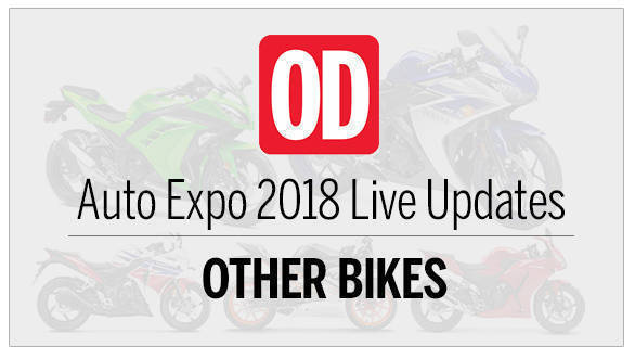 Auto Expo 2018: Other Bikes Live updates