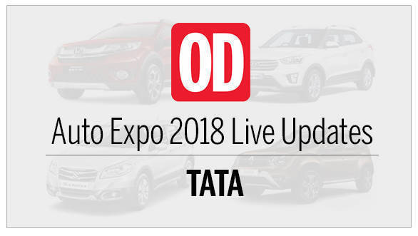 Auto Expo 2018: Tata Motors Live updates
