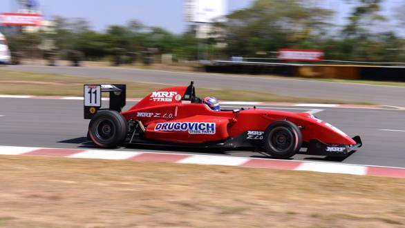 MRF Challenge 2017: Dominant Drugovich claims championship title after stellar performance in Chennai