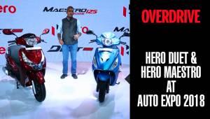 Hero Duet & Hero Maestro | OVERDRIVE | Auto Expo 2018