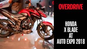 Honda X Blade | Auto Expo 2018