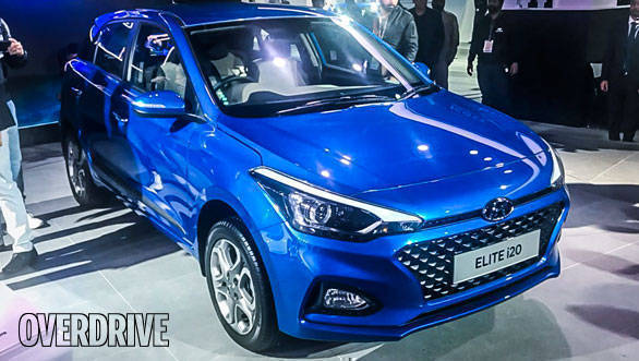 Auto Expo 2018: New 2018 Hyundai Elite i20 facelift launched in India at Rs 5.34 lakh