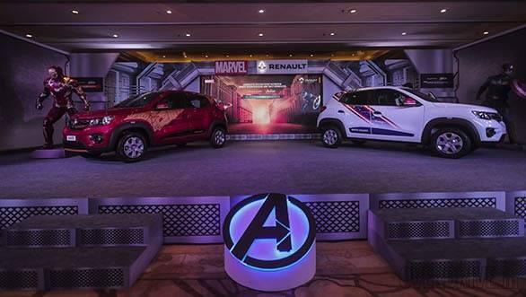 Auto Expo 2018: Renault Kwid Superhero editions image gallery