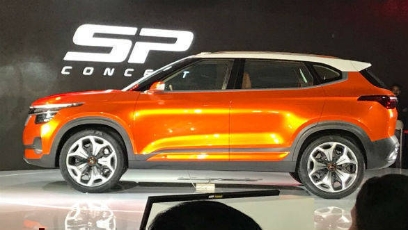 Auto Expo 2018 image gallery: Kia SP Concept compact SUV to enter production in 2019