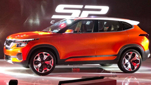 Auto Expo 2018: Kia reveals India-bound compact SUV - Kia SP Concept to enter production soon