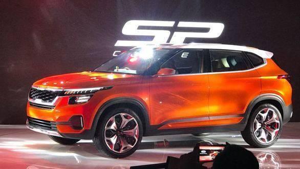 Auto Expo 2018 Kia Reveals India Bound Compact Suv Kia Sp Concept