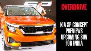 Kia SP Concept previews upcoming SUV for India | Auto Expo 2018