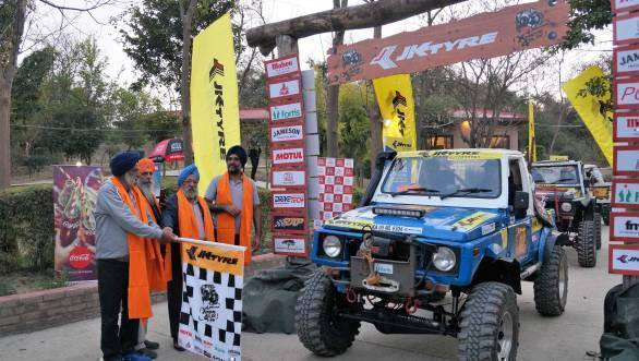 Fifteen top teams to compete in JK Tyre Xtreme 4Play off-roading event