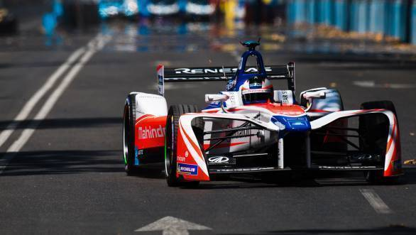 Formula E: Rosenqvist gives Mahindra Racing 4th place finish at inaugural Santiago ePrix