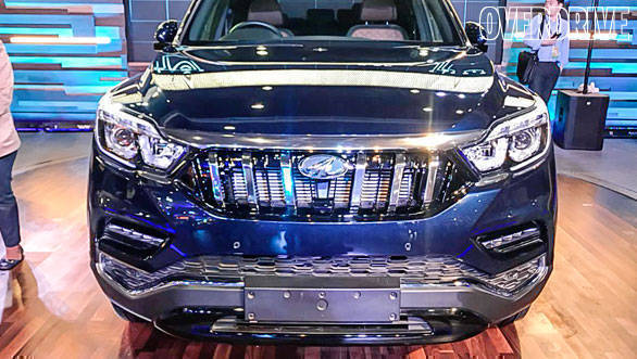 Auto Expo 2018 image gallery: Mahindra flagship SUV based on the Rexton G4
