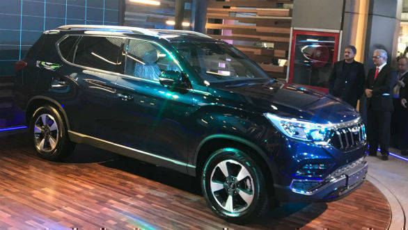Auto Expo 2018: Mahindra unveils flagship SUV, eyes Toyota Fortuner and Ford Endeavour