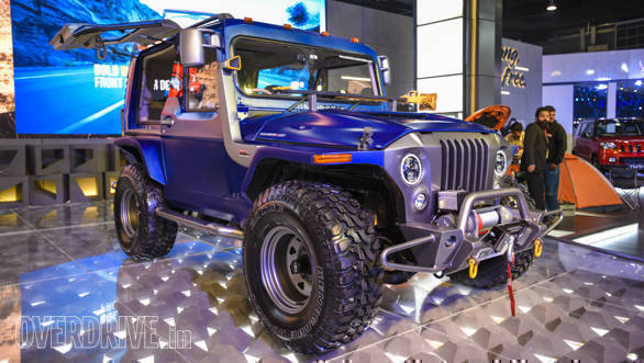 Image gallery: Mahindra Thar Wanderlust SUV at the 2018 Auto Expo