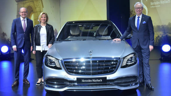 Auto Expo 2018: Mercedes-Maybach S 560 launched in India at Rs 1.9 crore