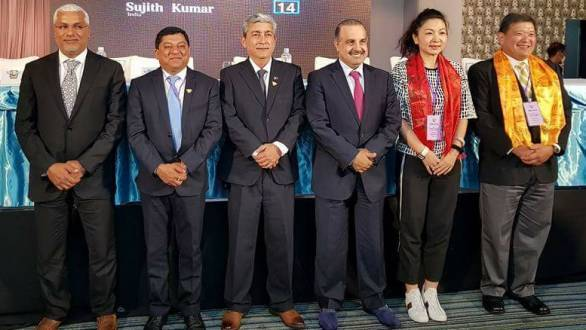 Sujith Kumar elected vice-president of FIM Asia