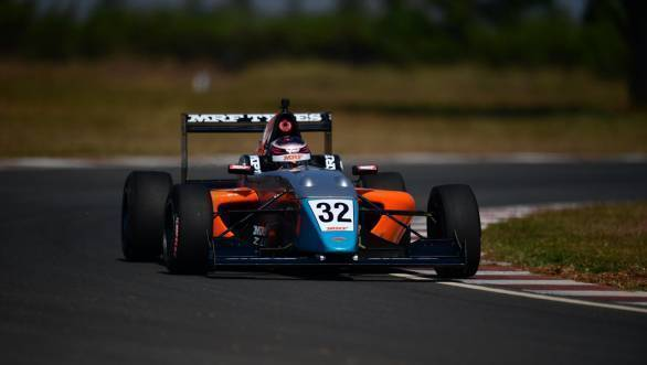 MRF Challenge 2017: Presley Martono on pole at Chennai season-finale