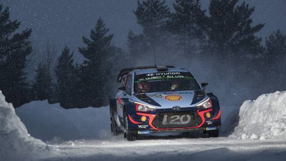 WRC 2018: Hyundai's Thierry Neuville victorious at Rally Sweden