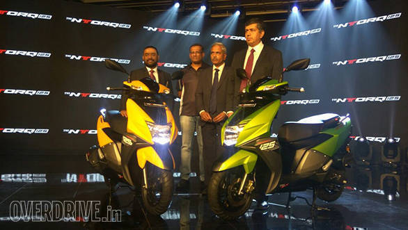 TVS NTorq 125 launched in India at Rs 58,750