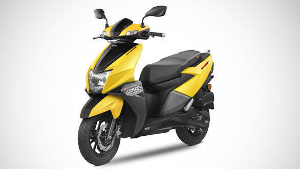 TVS NTorq 125 is the first Indian scooter with smart connectivity