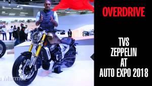 TVS Zeppelin | Auto Expo 2018