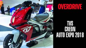 TVS Creon | OVERDRIVE | Auto Expo 2018