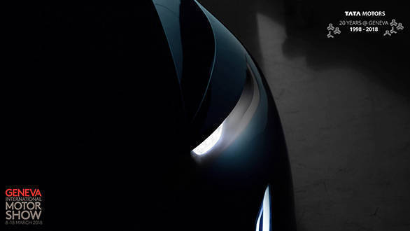 Geneva Motor Show: Tata 45X based sedan teased