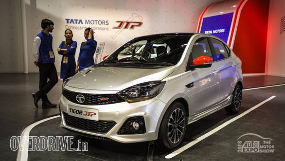 Image gallery: Tata Tigor and Tiago JTP showcased at 2018 Auto Expo