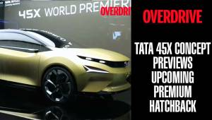 Tata 45X Concept previews upcoming premium hatchback | Auto Expo 2018