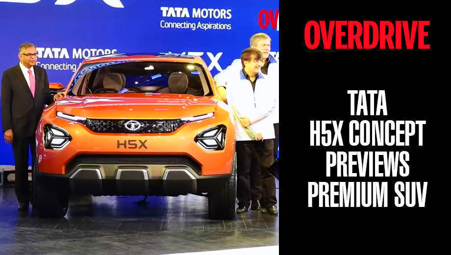 Tata H5X Concept previews premium 5 and 7 seater SUV coming in 2019